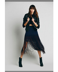 Candela aubrie fringe skirt medium 173125