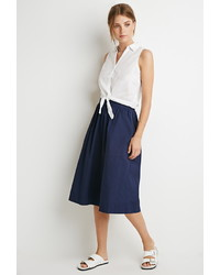 Forever 21 Contemporary A Line Midi Skirt