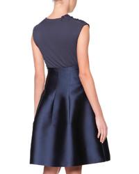 A Line Silk Skirt