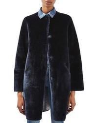 Topshop Bonded Faux Fur Coat