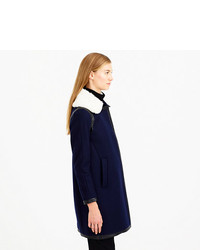 J.Crew Collection Shearling Collar Coat   Where to buy & how to wear