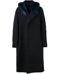 Fur collar coat medium 100449