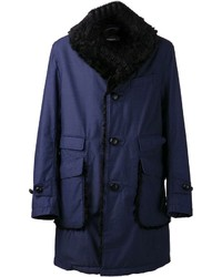 Fur collar coat medium 136183