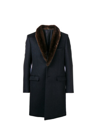 Fendi Fur Collar Coat