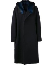 Lanvin Fur Collar Coat