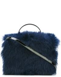 Vivienne Westwood Fur Shoulder Bag