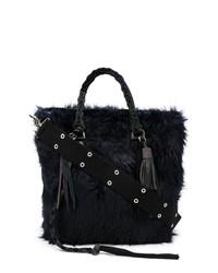 Sacai Furry Tote Bag