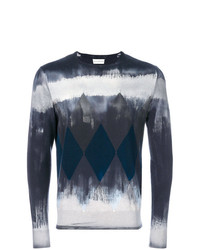 Ballantyne Geometric Graphic Print Sweater