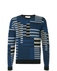 Cerruti 1881 Geometric Knit Sweater