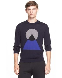 Kenzo Ufo Shapes Wool Sweater