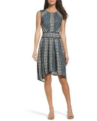 BCBGMAXAZRIA City Fit Flare Dress