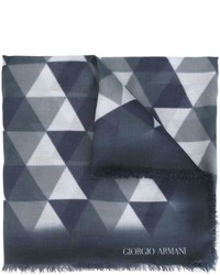 Giorgio Armani Geometric Print Scarf