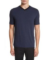 Armani Collezioni High V Neck T Shirt