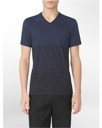 X fit ultra slim fit geometrical print v neck t shirt medium 58645
