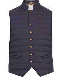 Brunello Cucinelli Button Fastening Nylon Gilet