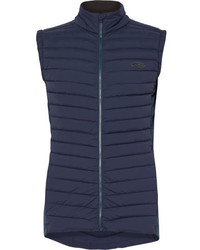 Kjus Macun Stretch Jersey Panelled Dwr Coated Quilted Shell Gilet