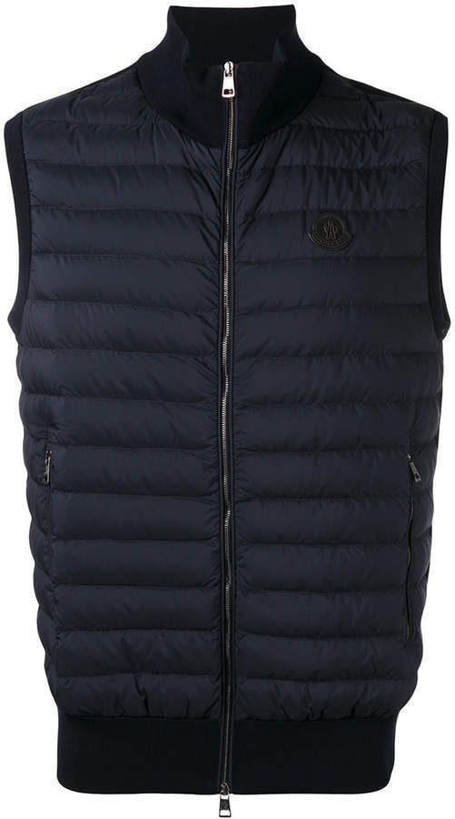 ... Moncler Moncler quilted body-warmer jacket