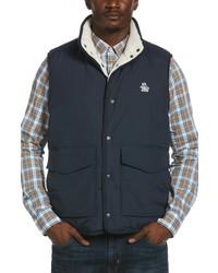 Original Penguin Nylon High Pile Fleece Vest