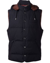 Padded hooded vest medium 667255