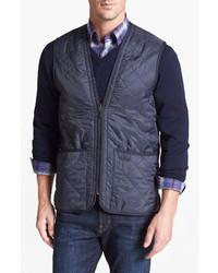 Barbour Polarquilt Relaxed Fit Zip In Liner Vest