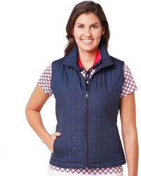 Tail Daisy Quilted Golf Vest