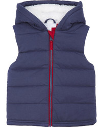 The Little White Company Bear Cotton Gilet 0 24 Months