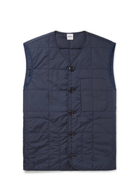 Aspesi Thermore Slim Fit Quilted Shell Padded Gilet
