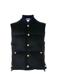 Thom Browne Tonal Gros Down D Cashmere Vest
