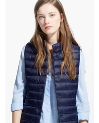 Mango Outlet Water Repellent Foldable Gilet