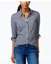 Gingham shirt medium 451597