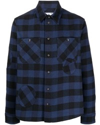 Off-White Special Flannel Shirt Blue Black