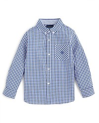 Andy & Evan Boys Gingham Button Down Shirt Sizes 2 7