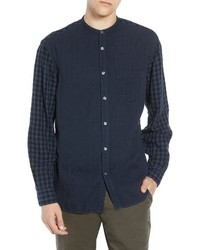 French Connection Double Gingham Shirt