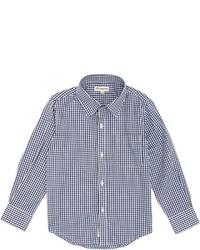 Appaman Gingham Shirt Blue