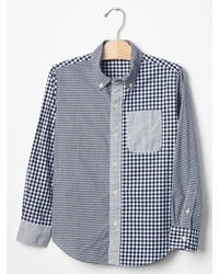 Gap Mixed Gingham Shirt