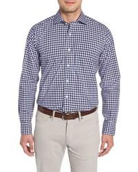 PETER MILLAR COLLECTION Regular Fit Boucle Gingham Sport Shirt