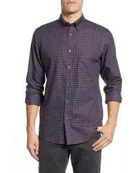 Nordstrom Men's Shop Smartcare Regular Fit Check Sport Shirt