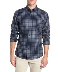 Nordstrom Men's Shop Traditional Fit Gingham Sport Shirt