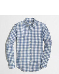 Washed shirt in gingham medium 80966