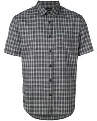 Vince Checked Shirt