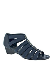 Navy Gladiator Sandals