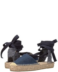 Soludos Denim Platform Gladiator Sandal Sandals