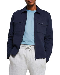 River Island Front Zip Shirt Jacket