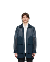 Cornerstone Navy Mesh Jacket