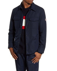 Tommy Hilfiger Padded Snap Up Shirt Jacket