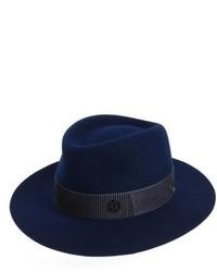 Andre fur felt hat blue medium 4984802