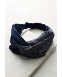 Anthropologie Knotted Tweed Headband