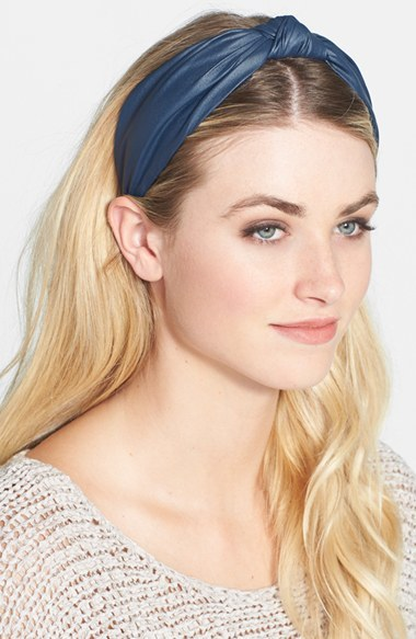 cara love faux leather headband where to buy how to wear