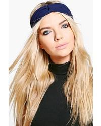 Boohoo Natasha Knotted Chiffon Headband