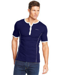 Armani Jeans Contrast Henley